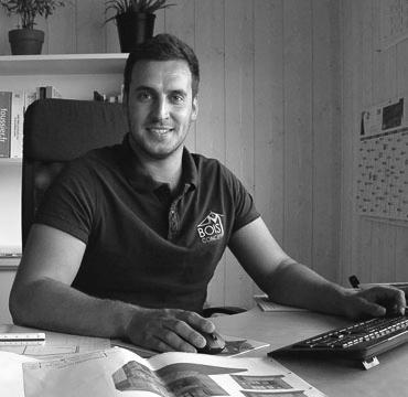 Mathias Brunel, Gérant de Bois Concept M
