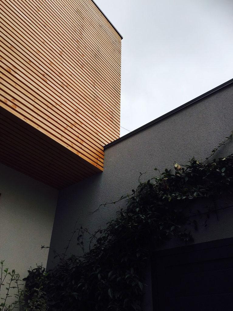 Extension d'une structure à ossature bois